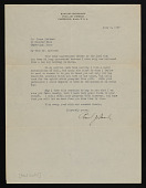 view James J. Rorimer papers digital asset: Correspondence