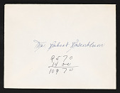 view Robert Rosenblum Papers digital asset: General Correspondence