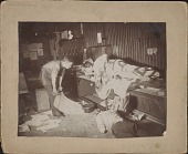 view Photographs of Everett Shinn with Friends in Philadelphia Newspaper Office digital asset: Photographs of Everett Shinn with Friends in Philadelphia Newspaper Office