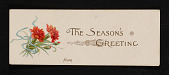 view Mary Margaret Sittig research material on Louis Prang digital asset: Christmas Cards