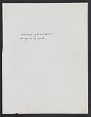 view Miscellaneous Notes, Handwritten digital asset: Miscellaneous Notes, Handwritten