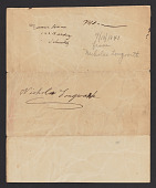 view Lilly Martin Spencer papers digital asset: Correspondence