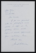 view Stable Gallery records digital asset: Correspondence, Miscellaneous