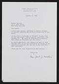 view Indiana, Robert (correspondence) digital asset: Indiana, Robert (correspondence)