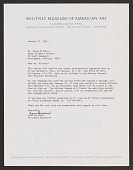 view Susanne Hilberry Gallery records digital asset: Correspondence