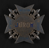 view Louisiana Purchase Exposition Advisory Committee Appointment and Juror Badge digital asset: Louisiana Purchase Exposition Advisory Committee Appointment and Juror Badge