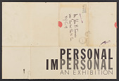 """view """"Personal and Impersonal"""" (1957) digital asset: """"Personal and Impersonal"""" (1957)"""