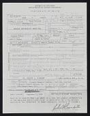 view Death Certificate digital asset: Death Certificate