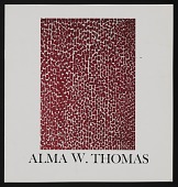 view Alma W. Thomas: Recent Paintings (1975), Howard University Gallery of Art digital asset: Alma W. Thomas: Recent Paintings (1975), Howard University Gallery of Art