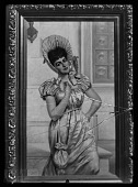 view Charles Henry Turner papers digital asset: Glass Plate Negative of Artwork