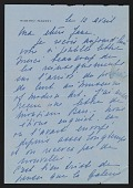 view Jane Wade Correspondence, M-P digital asset: Jane Wade Correspondence, M-P