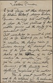 view Writings Concerning Exhibition of Walkowitz's Drawings of Isadora Duncan by Maria Theresa Duncan digital asset: Writings Concerning Exhibition of Walkowitz's Drawings of Isadora Duncan by Maria Theresa Duncan