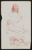 view Sketches, Men and Women digital asset: Sketches, Men and Women: circa 1890-1930