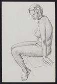 view Sketches, Women digital asset: Sketches, Women: circa 1890-1930