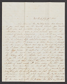 view Weir family papers digital asset: Letters, Julia Bayard to Carrie M. Mansfield