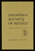 view Pasadena Society of Artists digital asset: Pasadena Society of Artists
