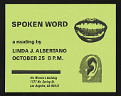 """view """"Spoken Word"""" by Linda J. Albertano digital asset: """"Spoken Word"""" by Linda J. Albertano"""