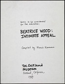 """view Exhibition - Oakland Museum - """"Intimate Appeal: The Figurative Art of Beatrice Wood"""" - Artwork for Consideration digital asset: Exhibition - Oakland Museum - """"Intimate Appeal: The Figurative Art of Beatrice Wood"""" - Artwork for Consideration"""