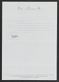 view Professional Correspondence digital asset: Professional Correspondence