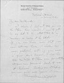 view Undated Correspondence, Johnston to Whistler digital asset: Undated Correspondence, Johnston to Whistler