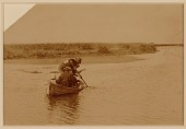 view Figures with Fishing Boat digital asset: Figures with Fishing Boat