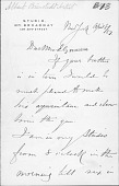 view Letter To Mrs. Ely digital asset: Letter To Mrs. Ely
