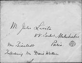 view Letter To Mr. Jules Lévita digital asset: Letter To Mr. Jules Lévita