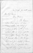 view Albert Bierstadt letter collection digital asset: Letter To Mrs. Parsons