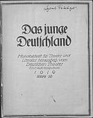 view Magazine, Das junge Deutschland digital asset: Magazine, Das junge Deutschland