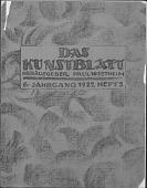 view Magazine, Das Kunstblatt digital asset: Magazine, Das Kunstblatt