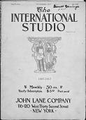 view Magazine, The International Studio digital asset: Magazine, The International Studio