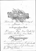 view Kenyon and Louise Cox papers digital asset: Certificate of Marriage