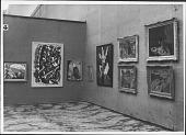 view Photographs of Salon des Independants Exhibition Installation digital asset: Photographs of Salon des Independants Exhibition Installation