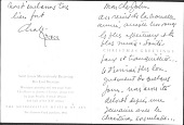 view Miscellaneous Personal Correspondence in English, French, and Spanish digital asset: Miscellaneous Personal Correspondence in English, French, and Spanish