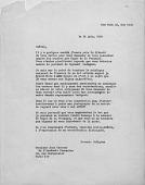 view Correspondence: Cocteau, Jean digital asset: Correspondence: Cocteau, Jean