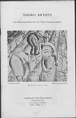 view Brochures on African American Artists digital asset: Brochures on African American Artists