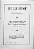 """view """"The Blue Menace"""" digital asset: """"The Blue Menace"""""""