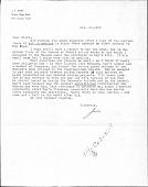 view Correspondence regarding Kay Sage digital asset: Correspondence regarding Kay Sage