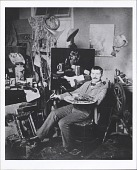view Photographs of John Frederick Peto in His Studio digital asset: Photographs of John Frederick Peto in His Studio