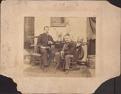 view Photograph of John Frederick Peto and William Harnett digital asset: Photograph of John Frederick Peto and William Harnett