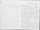 view Letters to Thomas Prichard Rossiter, L-W digital asset: Letters to Thomas Prichard Rossiter, L-W