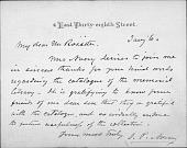 view Letters to Ehrick and Mary Rossiter, A-K digital asset: Letters to Ehrick and Mary Rossiter, A-K