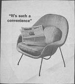 view Drawings of Furniture Designs, Eero Saarinen digital asset: Drawings of Furniture Designs, Eero Saarinen