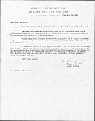 view Microfilmed Correspondence of Richard Grant White (circa 25 letters) and Stanford White (1 letter) from Huntington Library digital asset: Microfilmed Correspondence of Richard Grant White (circa 25 letters) and Stanford White (1 letter) from Huntington Library