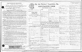 view Cat Fancier's Association Registration Form digital asset: Cat Fancier's Association Registration Form
