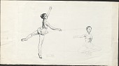 view Illustrations for First Book of Ballet digital asset: Illustrations for First Book of Ballet