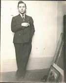 view Photographs of Raphael Soyer digital asset: Photographs of Raphael Soyer