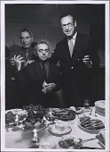 view Photographs of Party in Honor of Moses Soyer at Home of Chaim Gross (Photographs by Arnold Neuman) digital asset: Photographs of Party in Honor of Moses Soyer at Home of Chaim Gross (Photographs by Arnold Neuman)