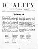 view Reality Journal digital asset: Reality Journal