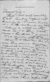 view Letters to Marguerite Storrs digital asset: Letters to Marguerite Storrs